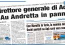 DIRETTORE GENERALE DI AQL L'AU ANDRETTA IN PANNE
