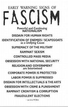 warning signs of facism