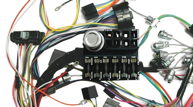 Wiring Diagram For  Lectric Limited Gm Mopar Ford Corvette Wiring Harnesses