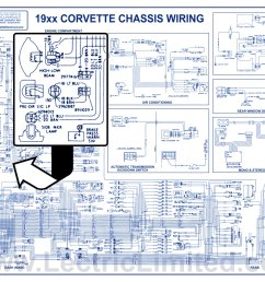 miscellaneous products1953 82 corvette and 1967 72 camaro laminated wiring diagrams [ 1560 x 1200 Pixel ]