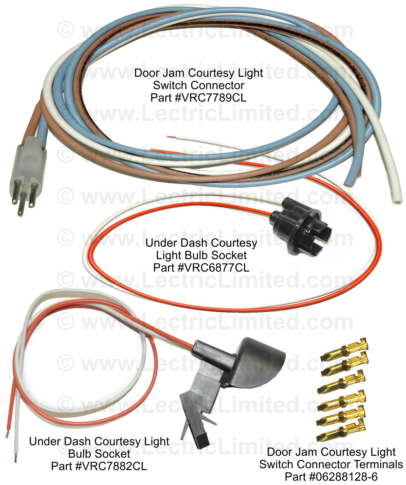 hight resolution of courtesy light repair components