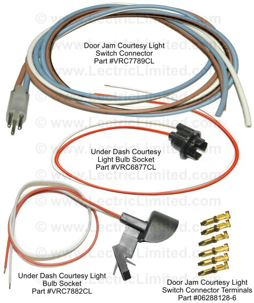 small resolution of courtesy light repair components