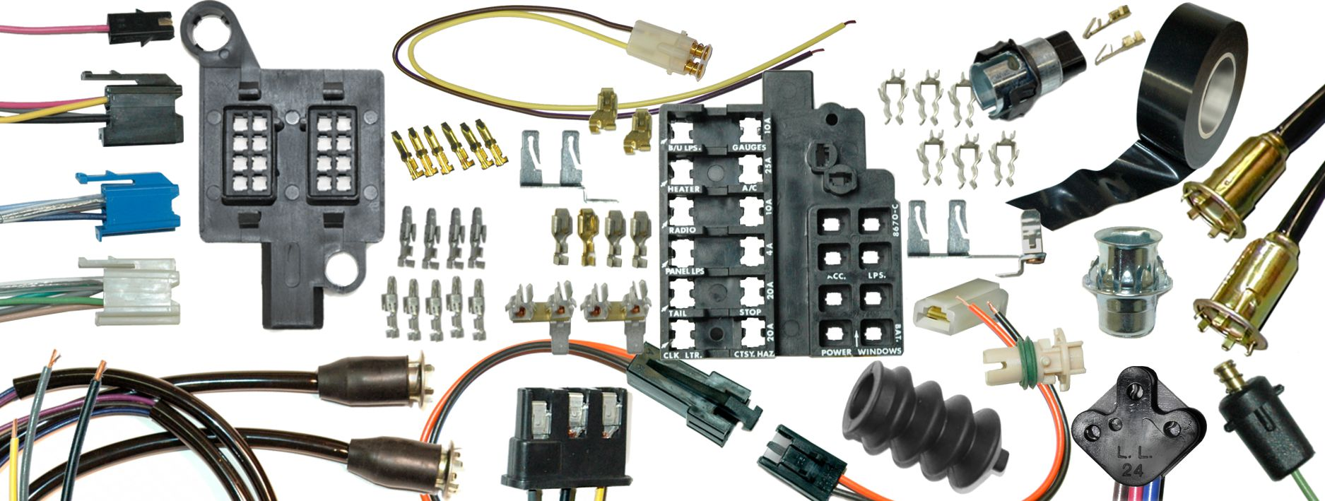 hight resolution of repair components for wiring harnesses