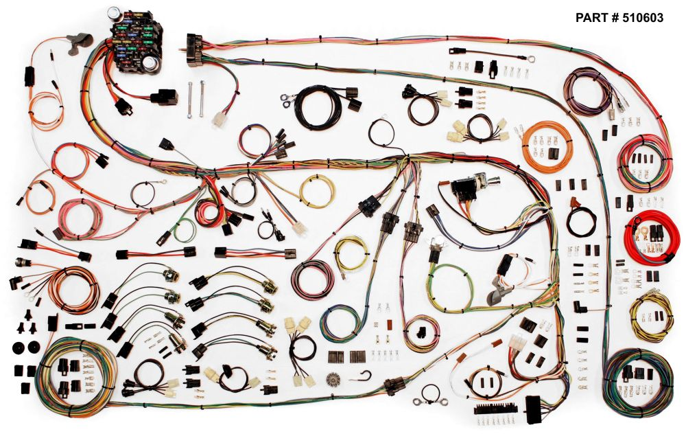 medium resolution of 1967 75 chrysler a body restomod wiring harness system