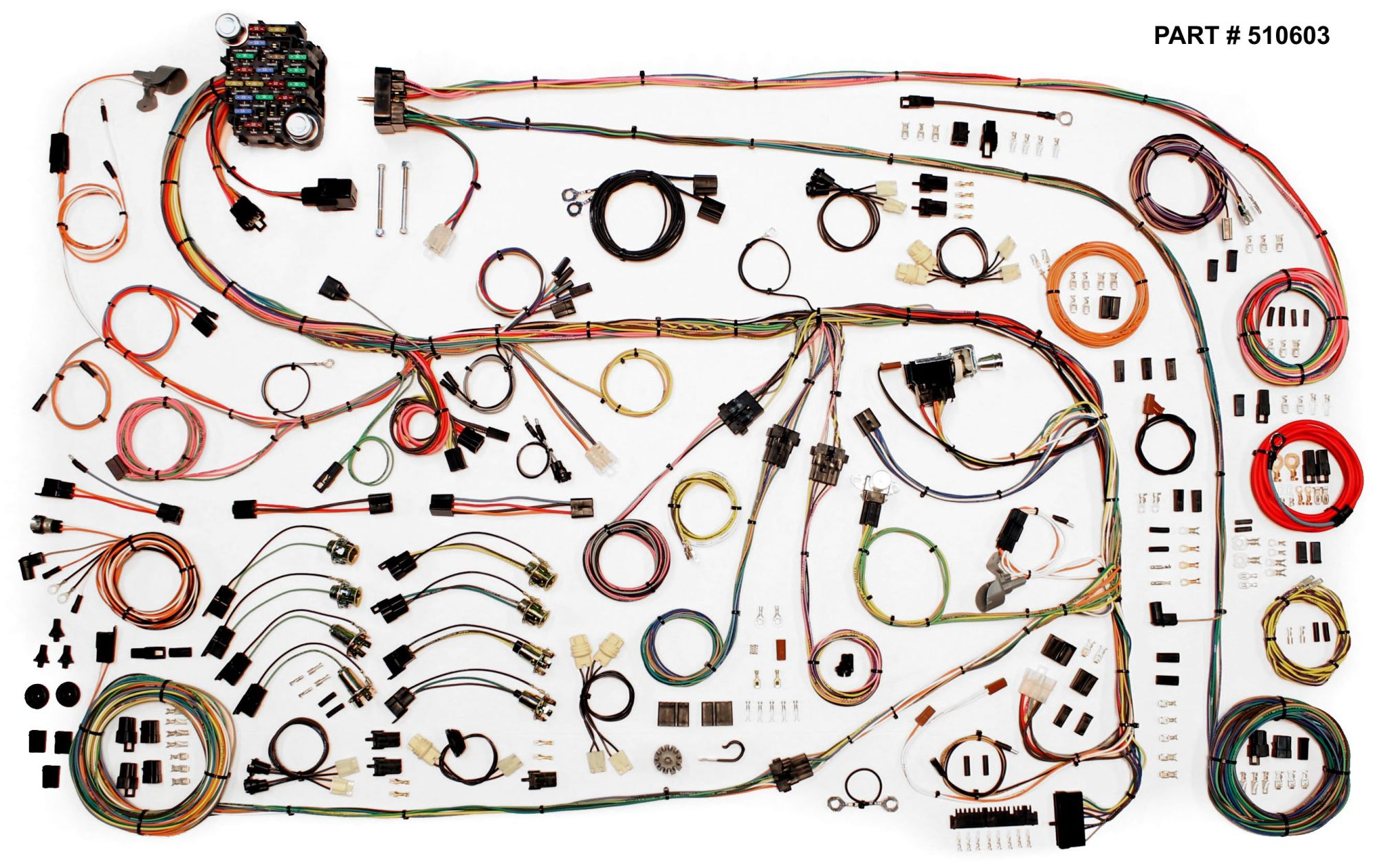 hight resolution of 1967 75 chrysler a body restomod wiring harness system