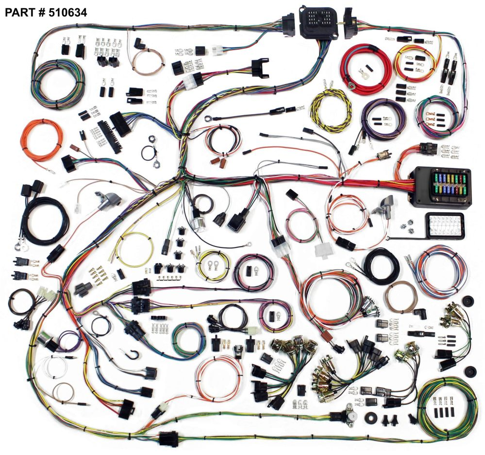 medium resolution of 1968 70 chrysler b body restomod wiring harness system