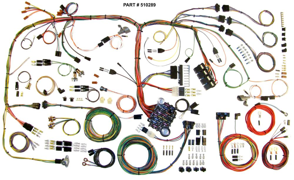 medium resolution of 1970 1974 plymouth barracuda dodge challenger restomod wiring system 1970 barracuda wiring harness 1970 74