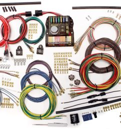 1962 1974 volkswagen beetle restomod wiring system wiring diagram for vw beetle alternator wiring harness for vw beetle [ 2591 x 1603 Pixel ]