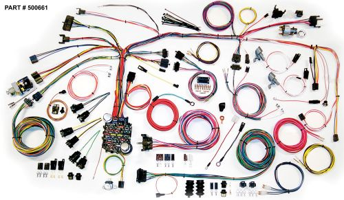 small resolution of 1967 68 camaro restomod wiring harness system