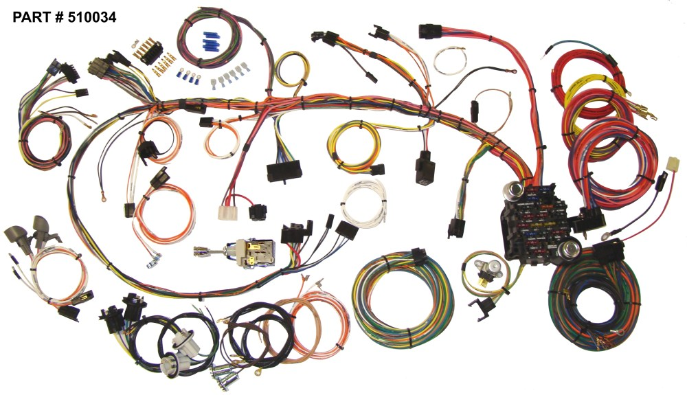 medium resolution of 1970 73 camaro restomod wiring harness system
