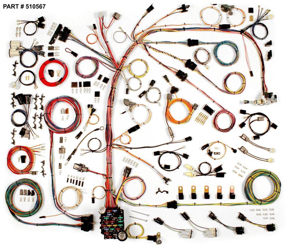 medium resolution of 1974 77 camaro restomod wiring harness system