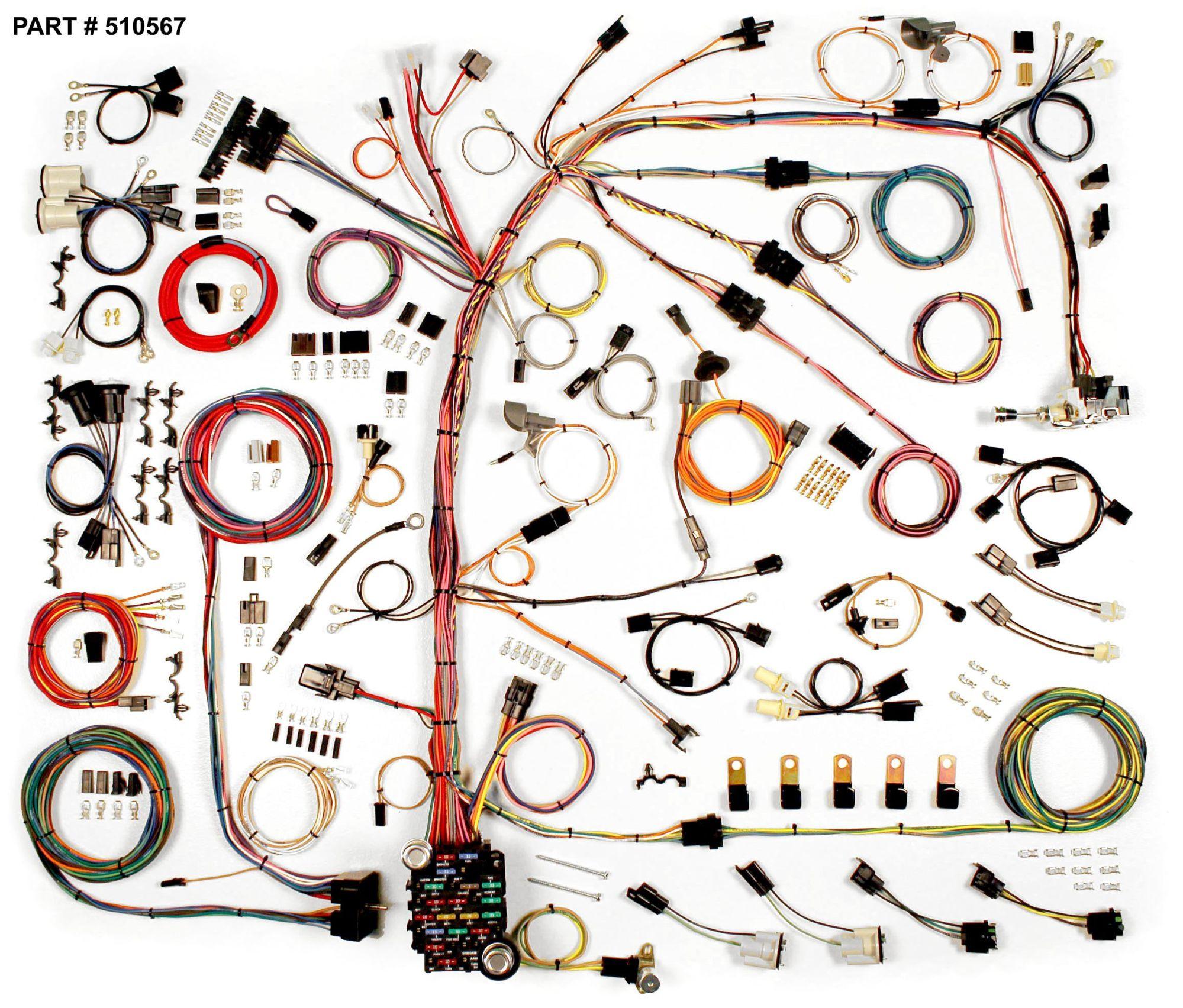 hight resolution of 1974 77 camaro restomod wiring harness system