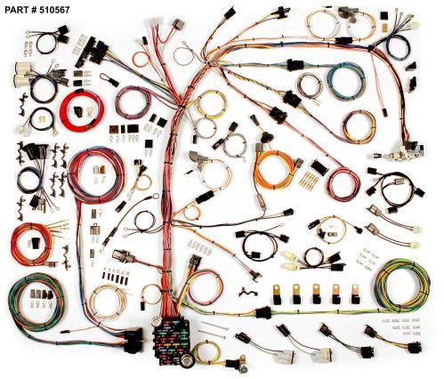 small resolution of 1974 77 camaro restomod wiring harness system