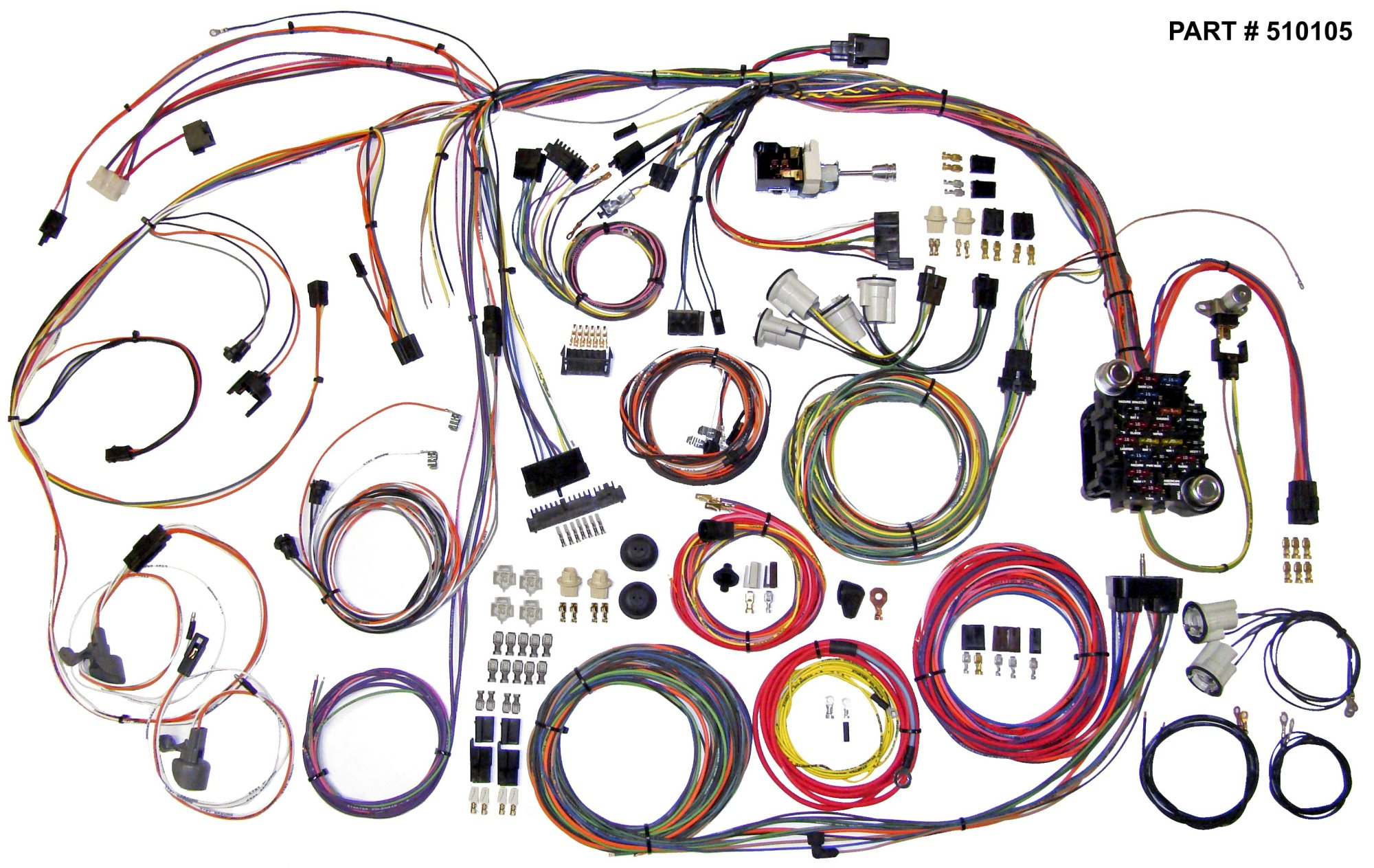 hight resolution of 1970 1972 chevrolet chevelle u0026 el camino restomod wiring system mix 1970 72 chevelle