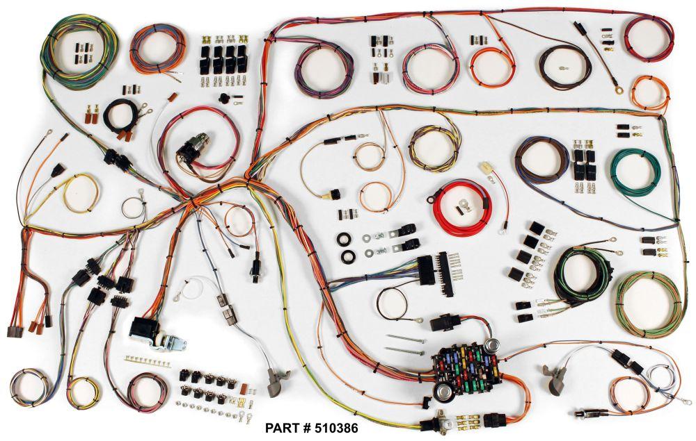 medium resolution of 1965 falcon restomod wiring harness system