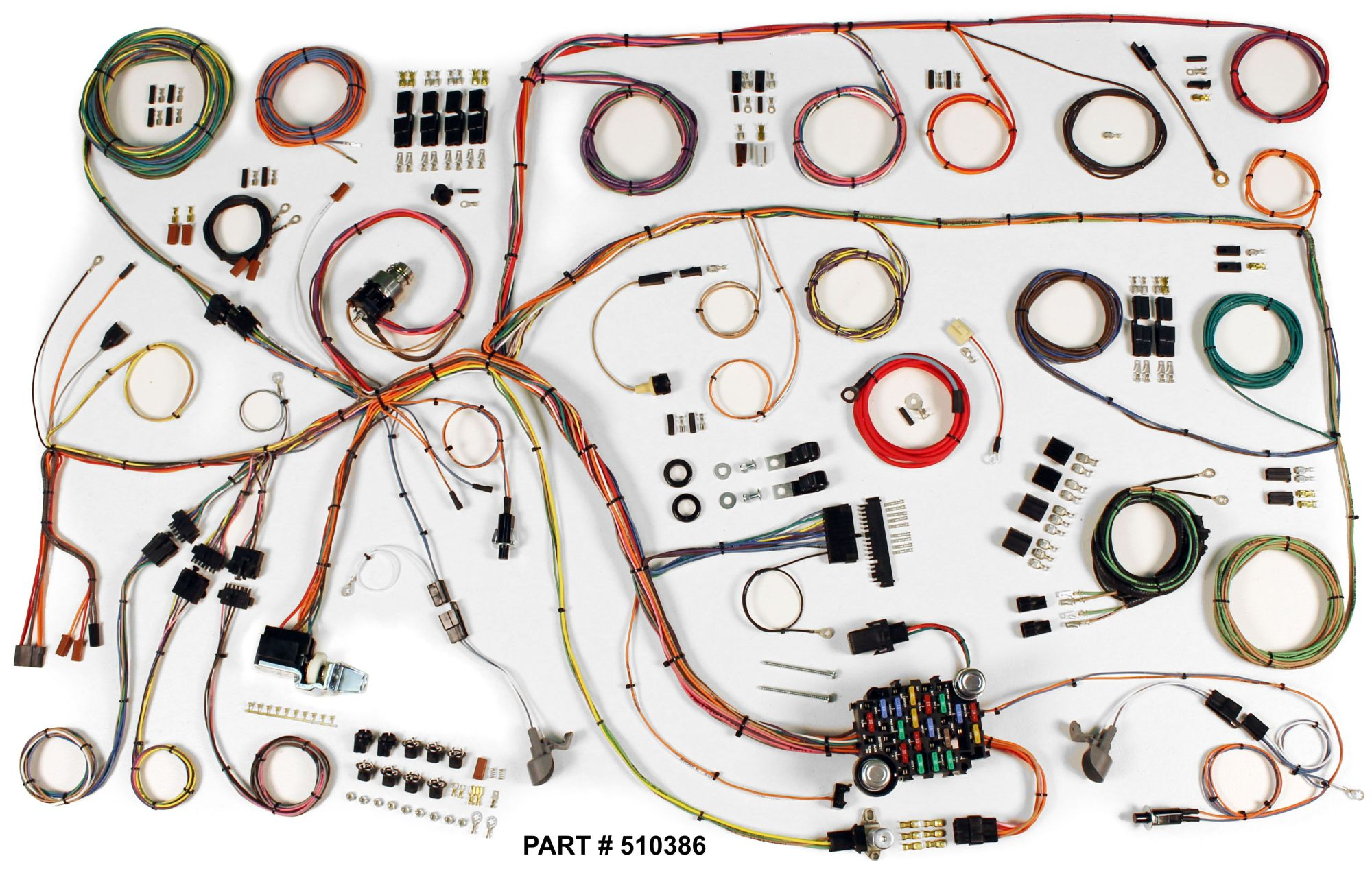 hight resolution of 1965 ford falcon restomod wiring system ford falcon au stereo wiring harness ford falcon wiring harness