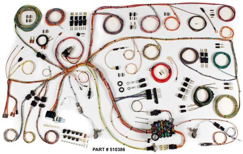 small resolution of 1965 falcon restomod wiring harness system
