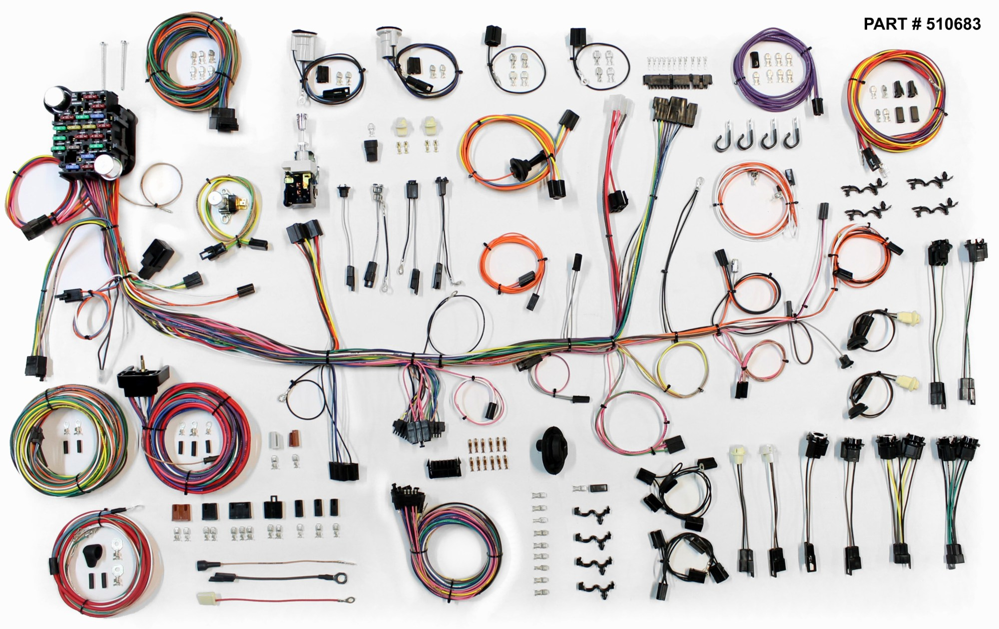 hight resolution of 1974 78 firebird restomod wiring harness system