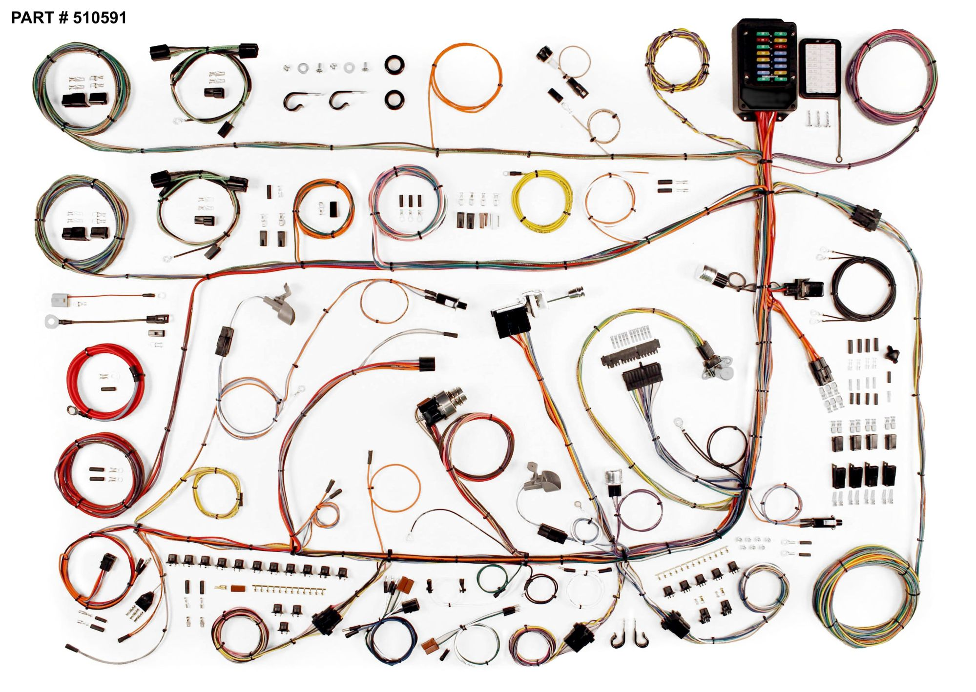 hight resolution of 1964 ford wire harness wiring diagrams 1960 1964 ford galaxie mercury fullsize restomod wiring system