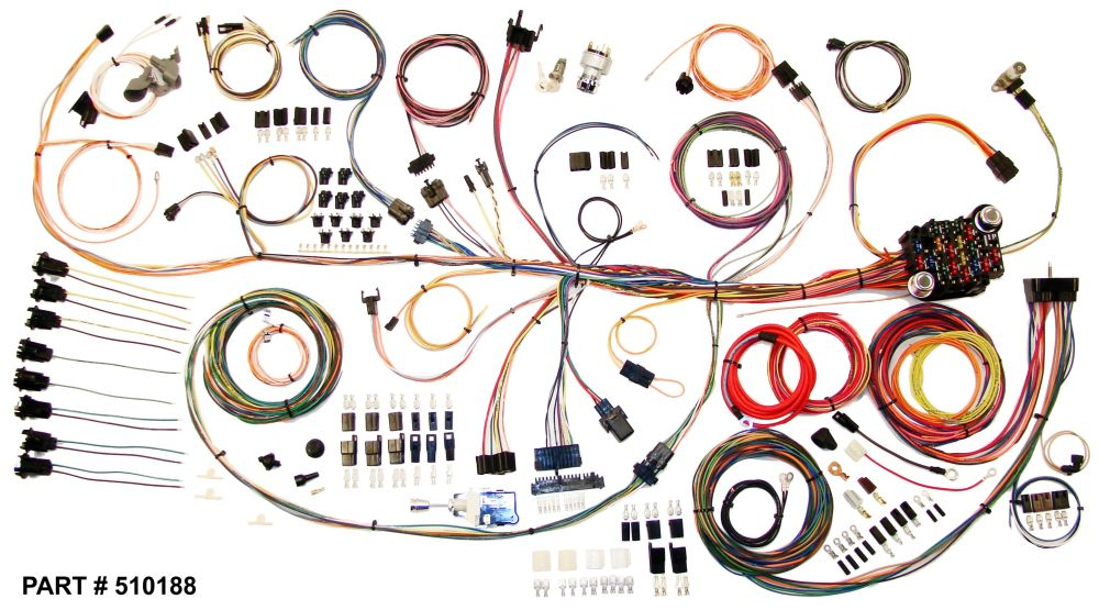 medium resolution of 1964 67 gto restomod wiring harness system