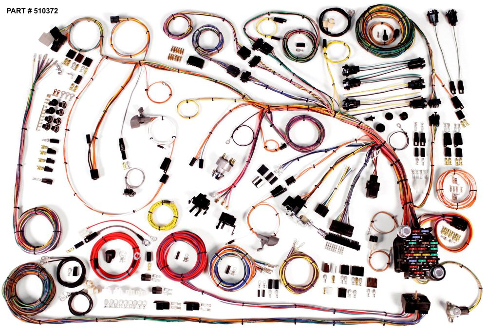 medium resolution of 1966 1968 chevrolet impala restomod wiring system 68 impala wiring harness 1966 68 impala restomod wiring