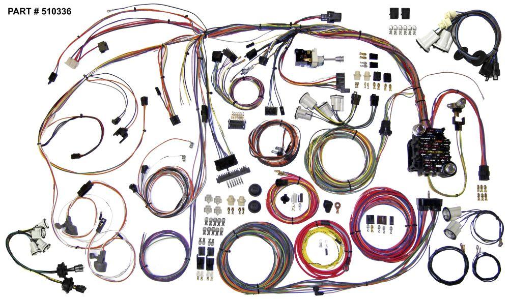 medium resolution of 1970 72 monte carlo restomod wiring harness system