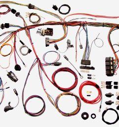 1969 mustang restomod wiring harness system [ 2957 x 1713 Pixel ]