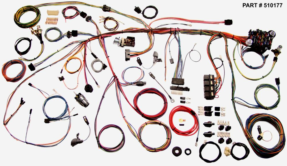medium resolution of 1969 mustang restomod wiring harness system