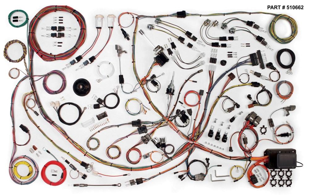 medium resolution of 1971 73 mustang restomod wiring harness system