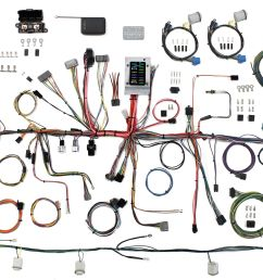 1987 1989 ford mustang restomod wiring system rh lectriclimited com porsche 911 wiring harness 89 mustang [ 2894 x 1824 Pixel ]