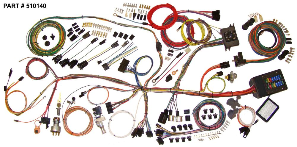 medium resolution of 1962 67 nova restomod wiring harness system