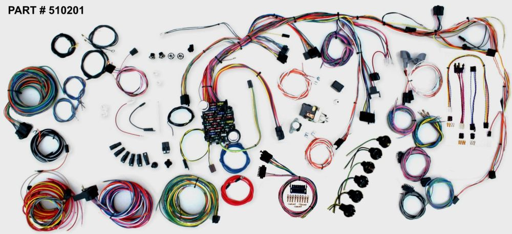 medium resolution of 1968 chevrolet nova restomod wiring system 1968 nova restomod wiring harness system