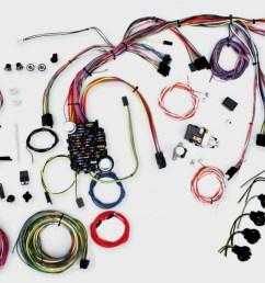 1969 72 nova restomod wiring harness system [ 1417 x 655 Pixel ]