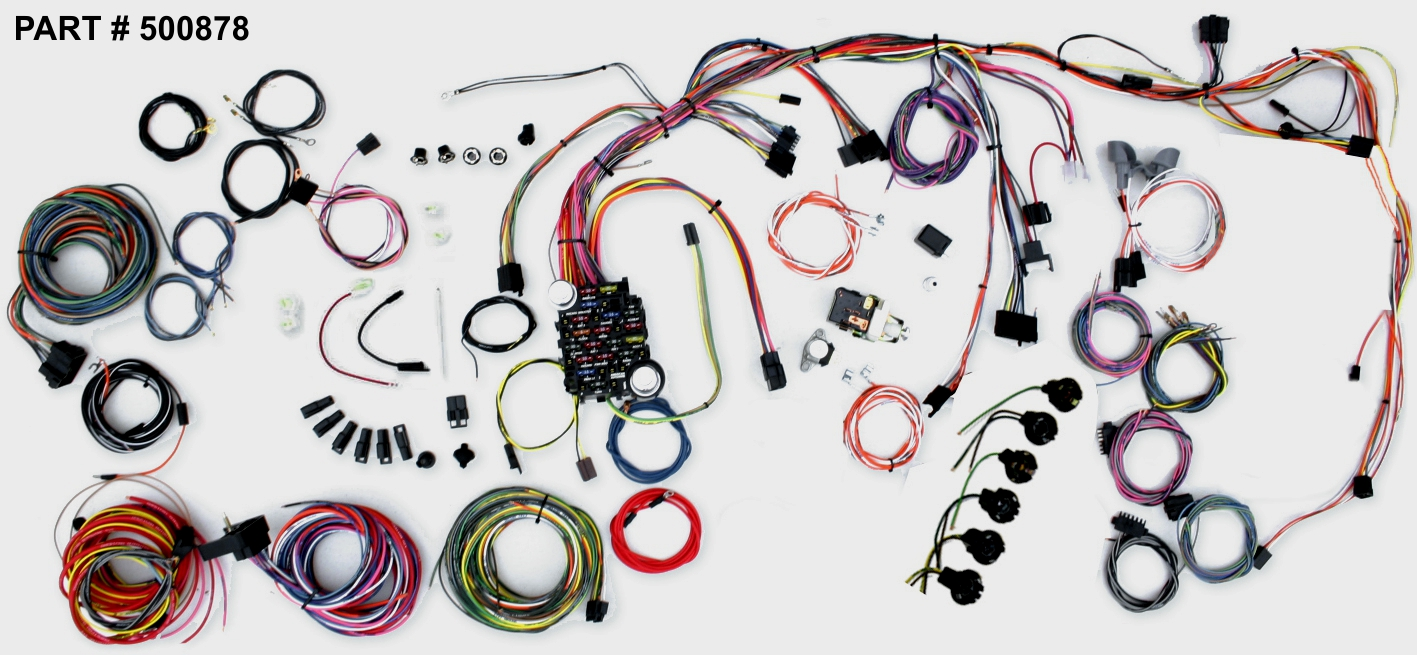 hight resolution of 1969 72 chevy ii nova classic update series wiring system part 500878