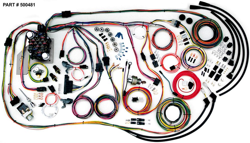 medium resolution of 1955 59 chevrolet truck restomod wiring harness system