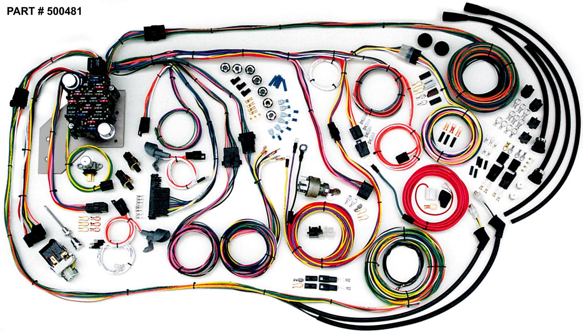 hight resolution of 1956 1957 1958 1959 chevy truck fuse panel wire harness new wiring1955 2nd series