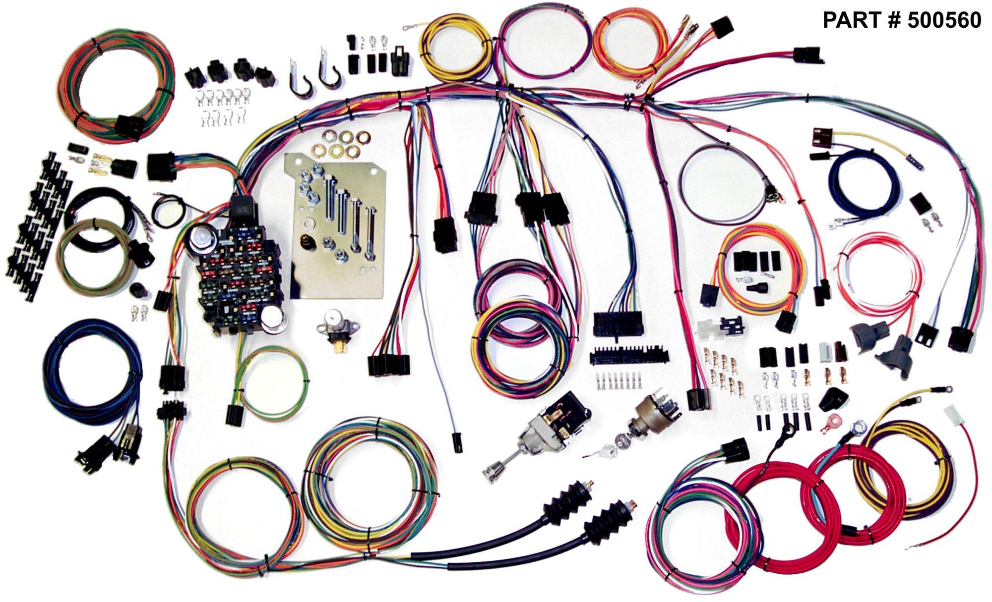 hight resolution of 1960 66 chevrolet truck restomod wiring harness system