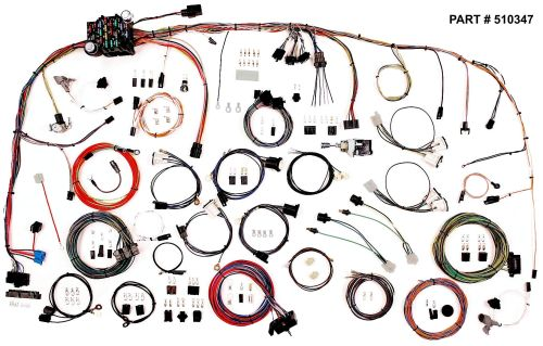 small resolution of 1973 82 chevrolet gmc truck classic update series wiring system part 510347