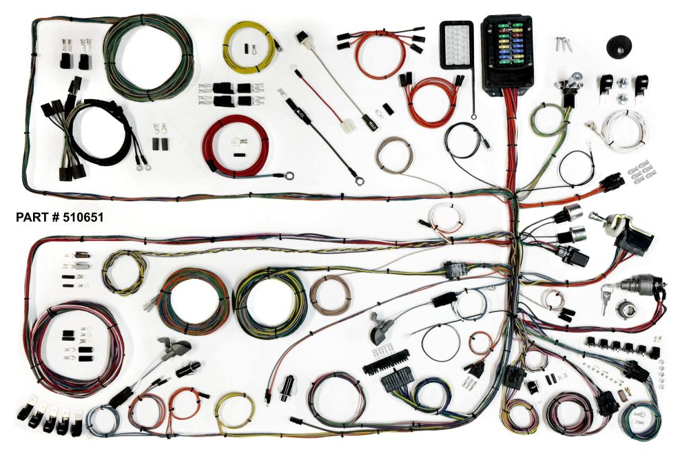 medium resolution of 1957 60 ford truck restomod wiring harness system