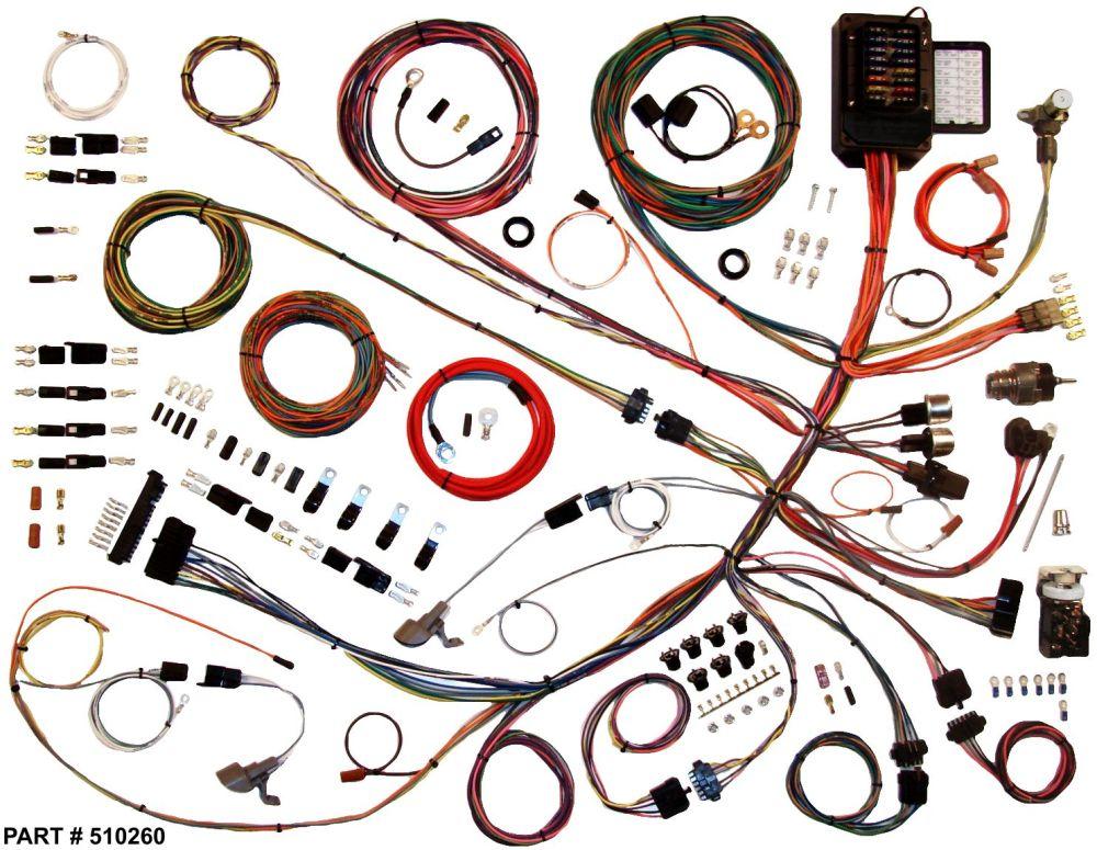 medium resolution of 1961 66 ford f100 truck restomod wiring harness system