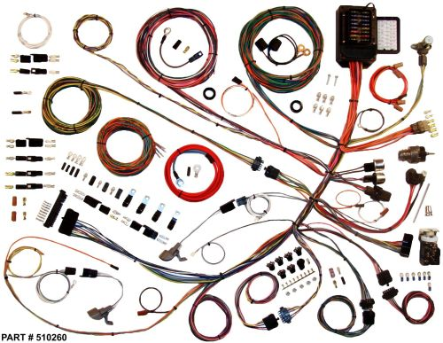 small resolution of 1961 66 ford f100 truck restomod wiring harness system