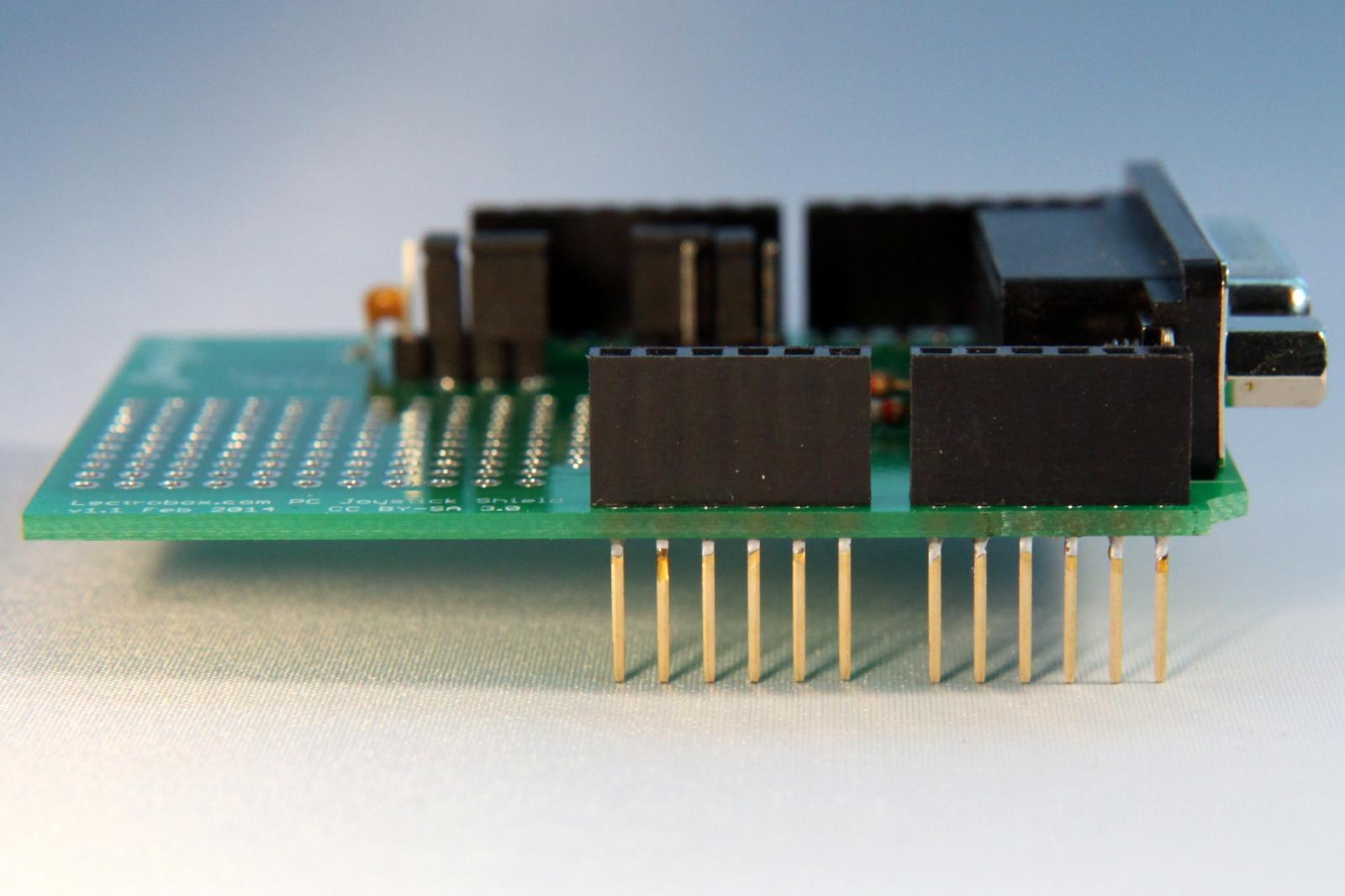 hight resolution of serial db15 joystick wiring diagram
