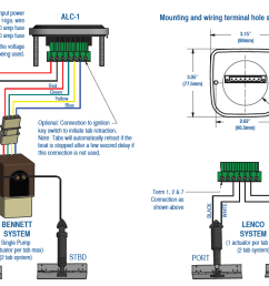 auto leveling control wiring bennett and lenco systems [ 2126 x 1470 Pixel ]