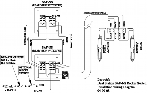 wiringDiagramSAFNSdualStation lenco trim tabs wiring diagram lenco wiring diagram at mifinder.co
