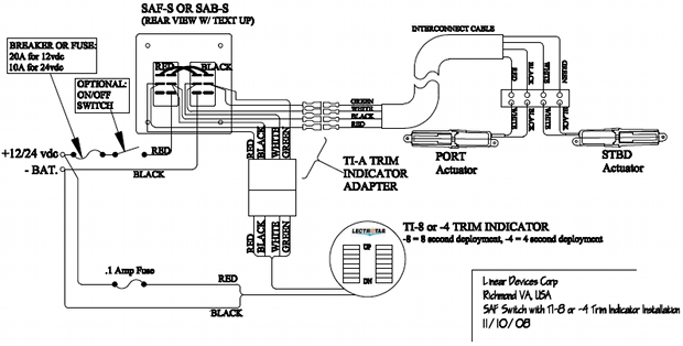 Bennet Trim Tabs Wiring Diagram : 31 Wiring Diagram Images
