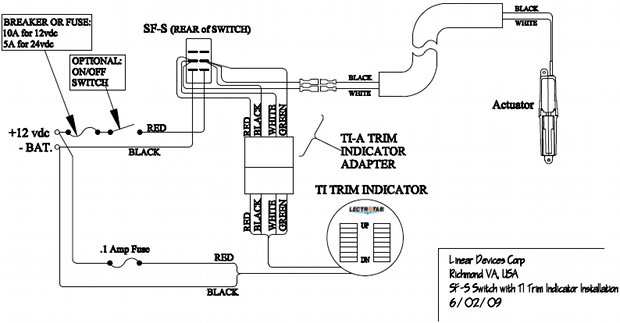 Wiring Diagram Flat Rocker Switch SAF S SAF NS SF S Series