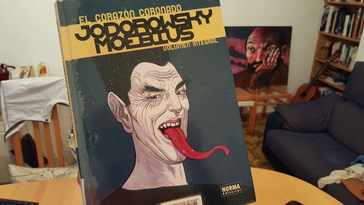 Jodorowsky y Moebius en El Corazón Coronado