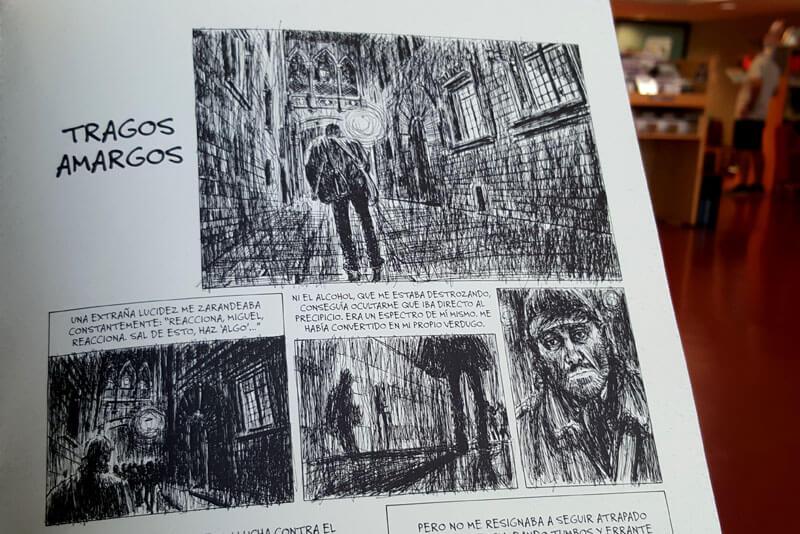 15 años en la calle detalle ilustracion Miguel Fuster