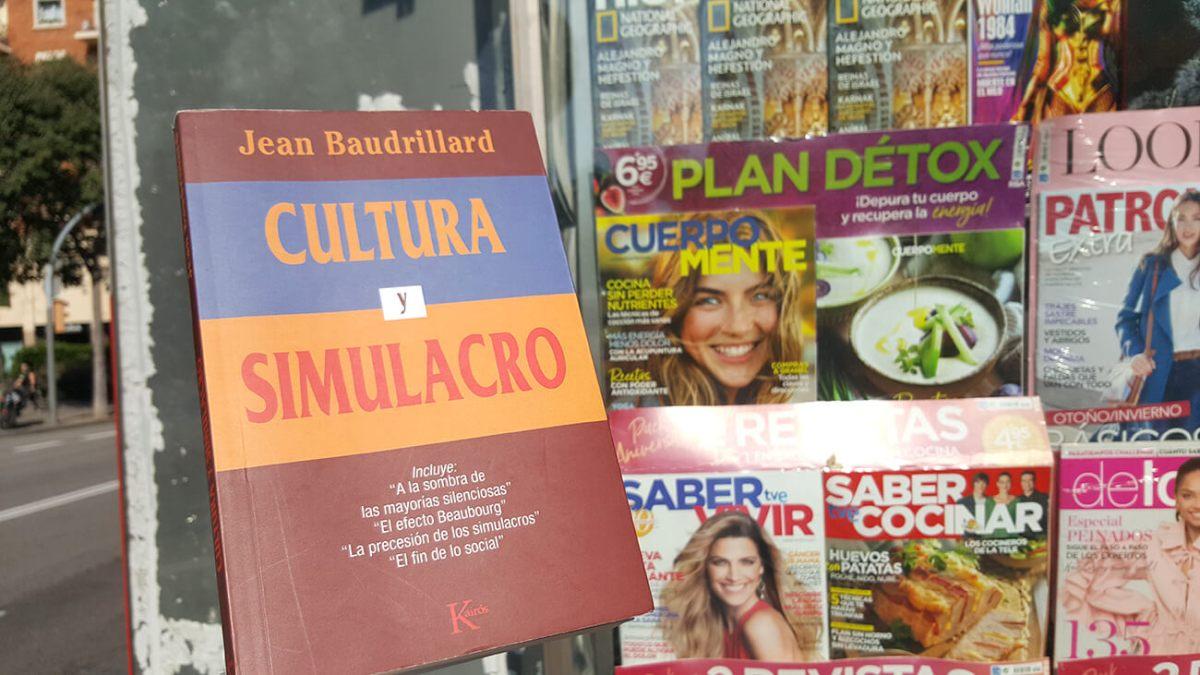 Cultura y simulacro: análisis y citas textuales