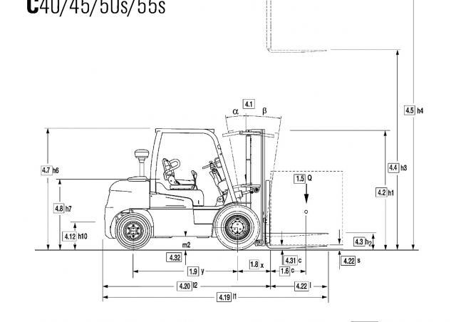 Clark C 45 D Specifications & Technical Data (2010-2014